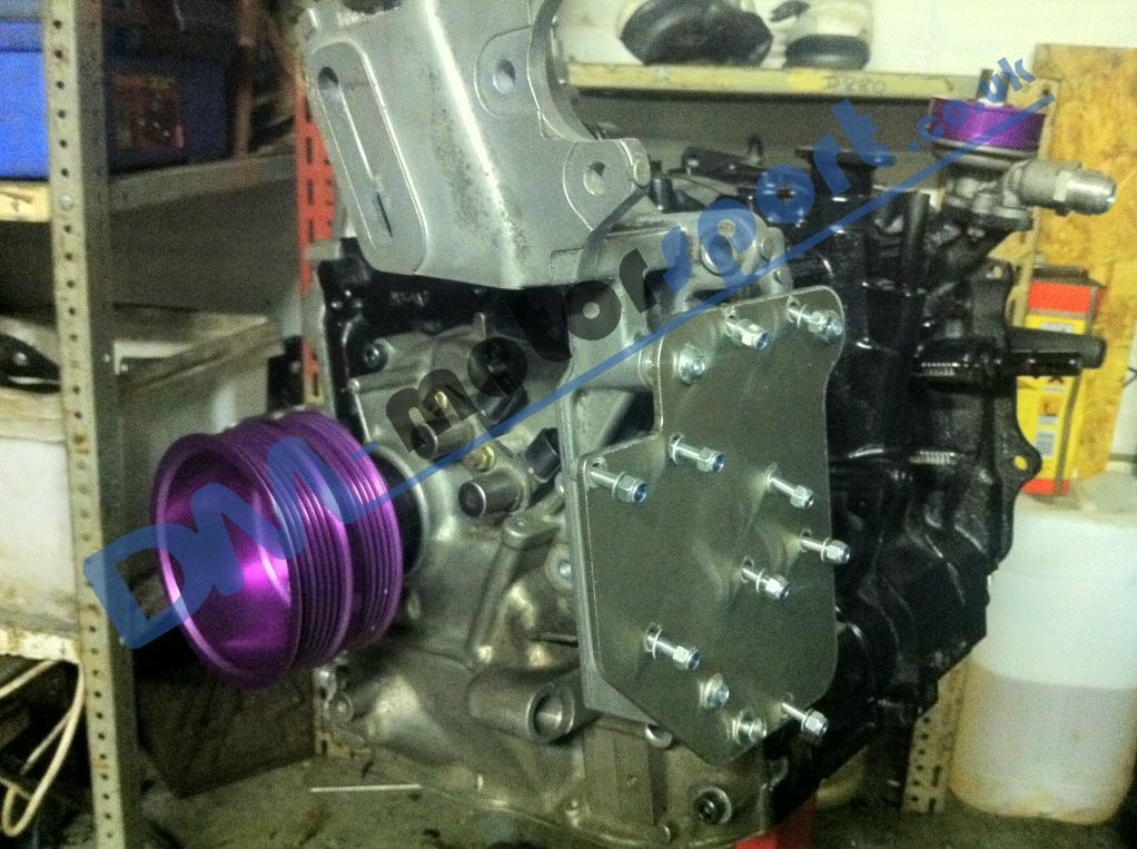 Rx fd s stock coil pack relocation system